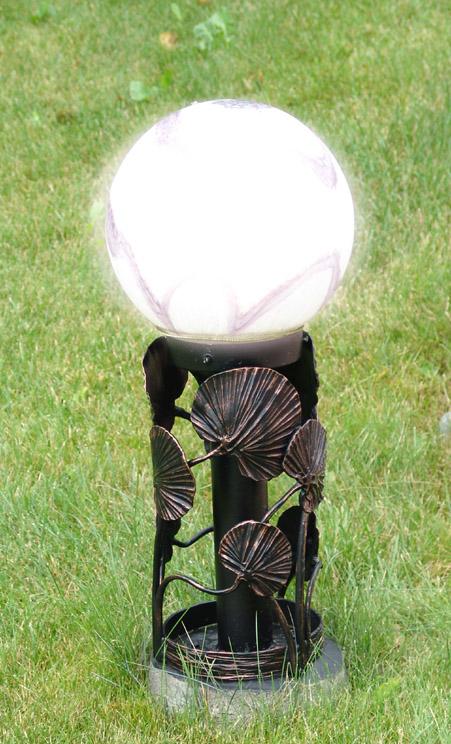 схема светодиодного фонаря на солнечной батарее садовый светильник - Интересные полезности.
