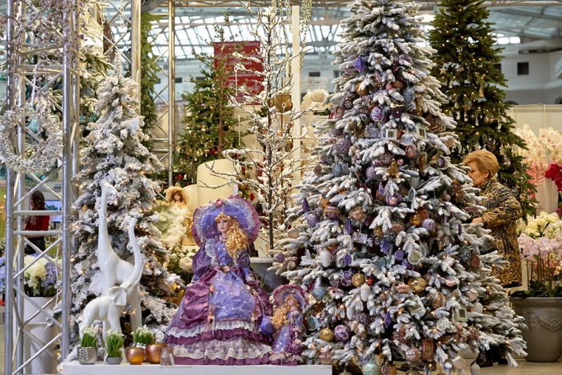 Гостиный двор выставка новый год