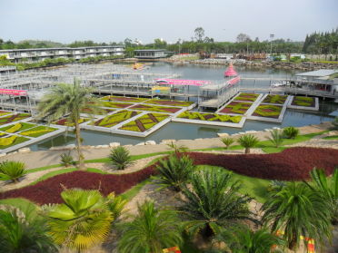 Ботанический сад нонг нуч таиланд